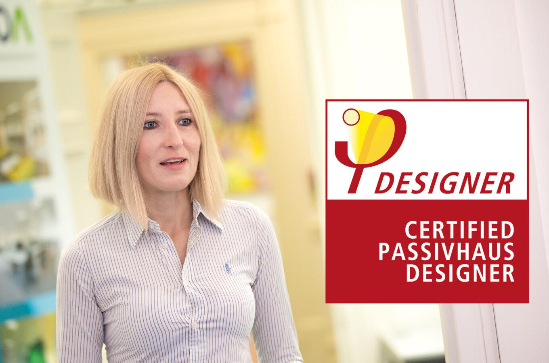 Certified Passivhuas Designer