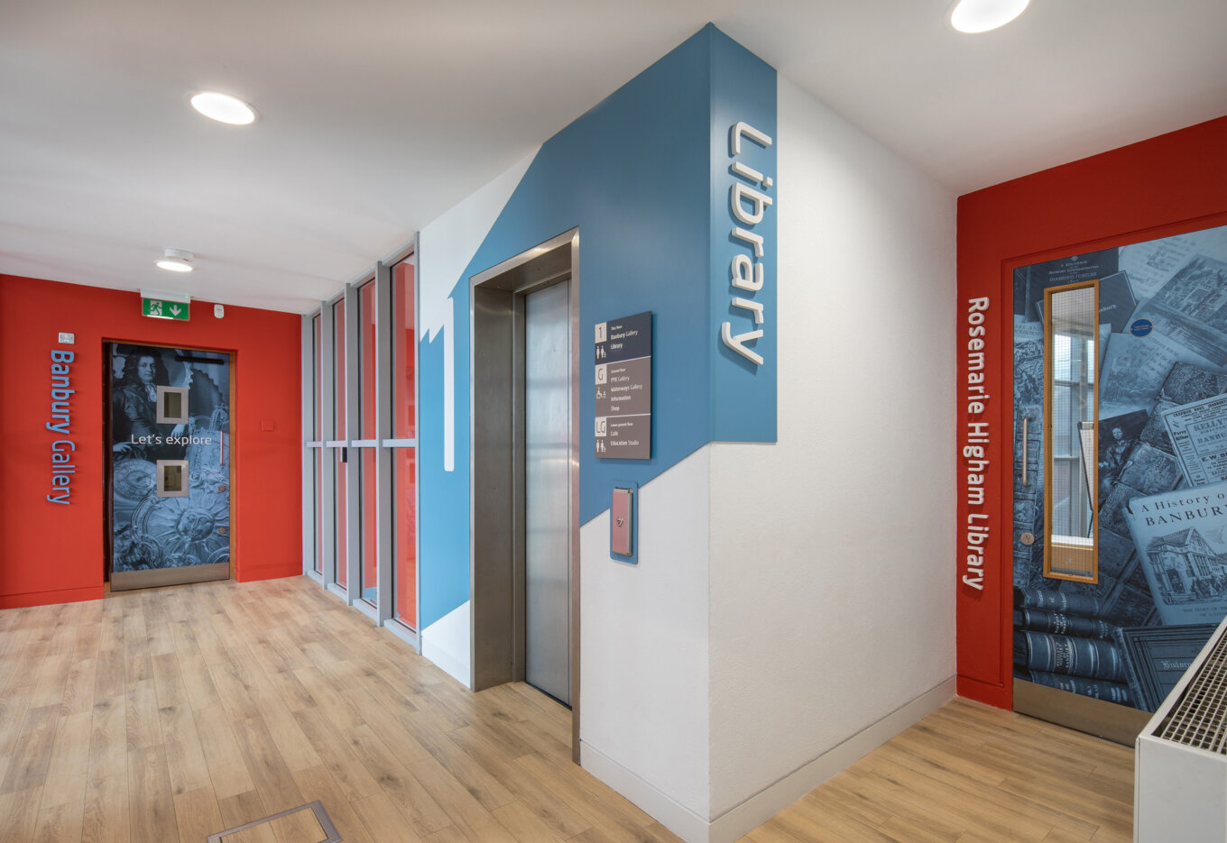 Museum Library gets Graphic Treatment