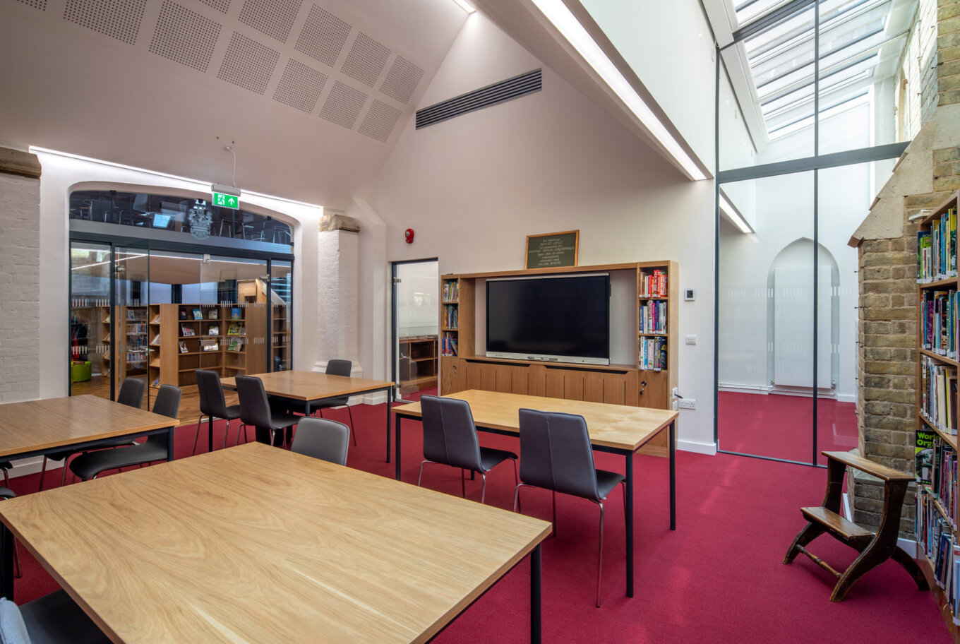 New Room, New Library