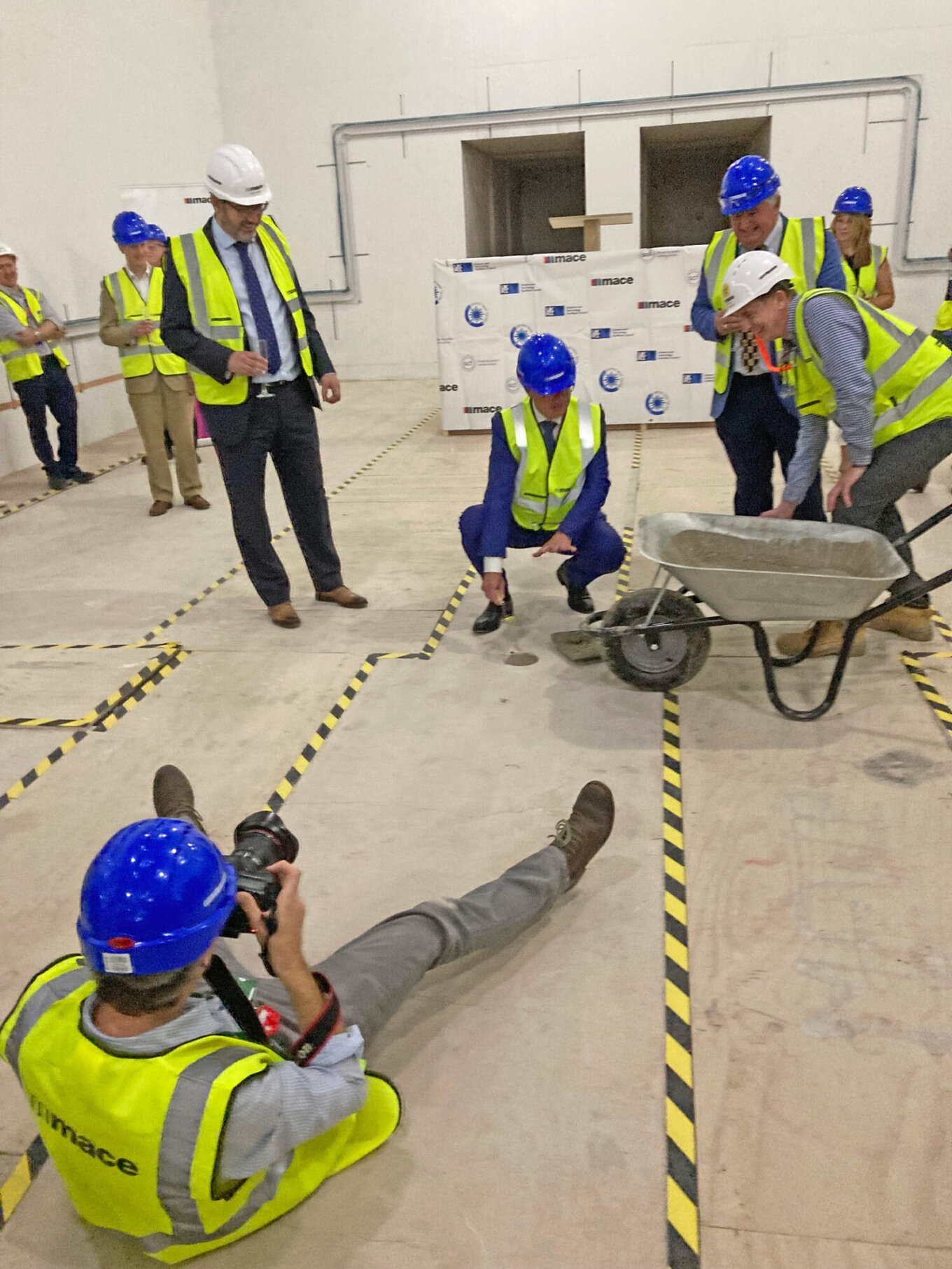 EPAC Topping Out and Milestone Ceremony