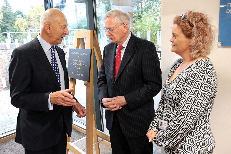 HRH Duke of Gloucester Officially Opens the New Fairfield Care Home