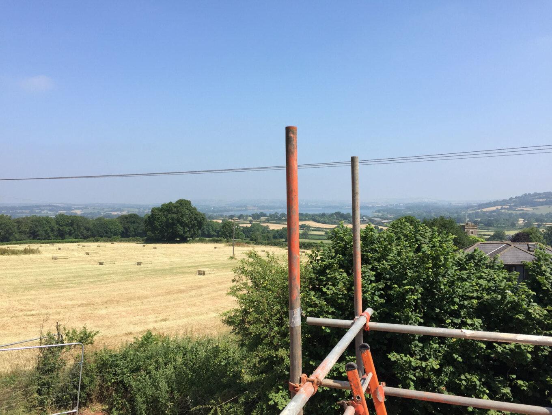 Progress at East Harptree