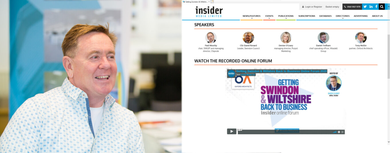 OA on Panel of Latest Insider Media Online Forum