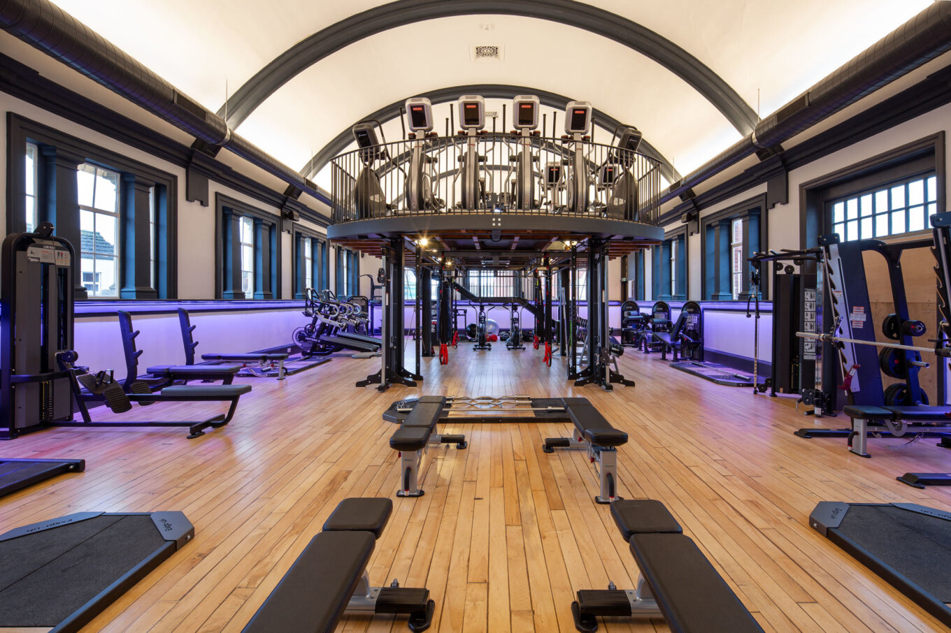 New Gym for Luxe Fitness