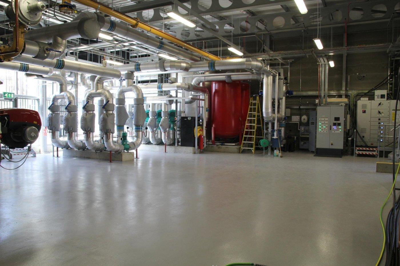 Energy Centre Broadmoor Hospital