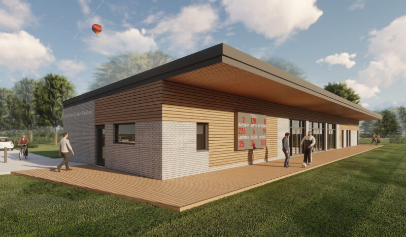Planning Approval for Cricket Pavilion