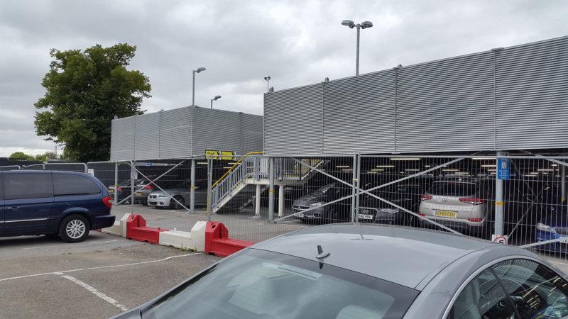 Didcot Parkway Modular Decked Car Park