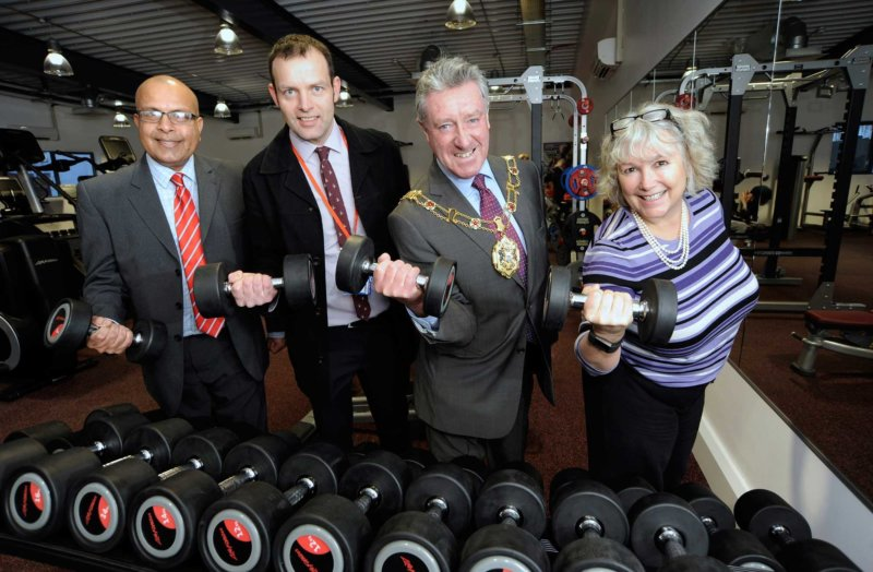 Oxford Spires Gymnasium Open for Business