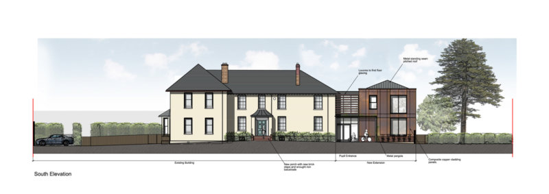 Expansion for Historic School