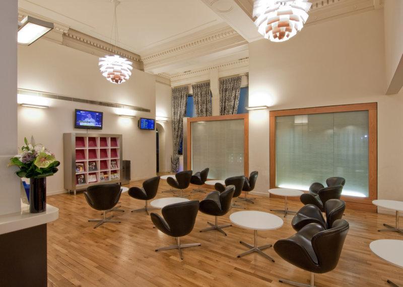 Paddington Station First Class Lounge